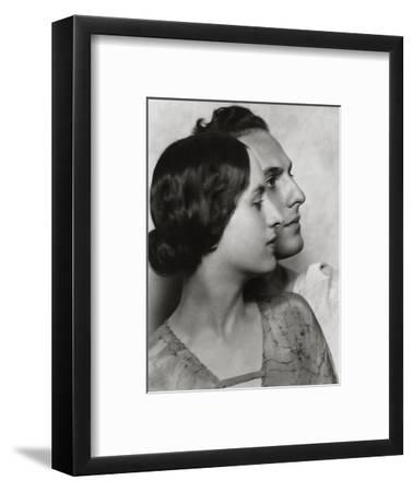 Vanity Fair - December 1922-Nickolas Muray-Framed Premium Photographic Print