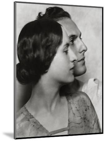 Vanity Fair - December 1922-Nickolas Muray-Mounted Premium Photographic Print