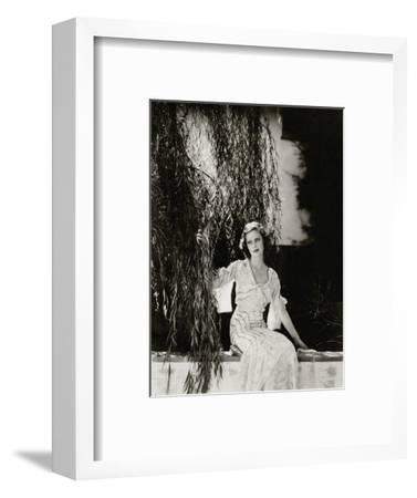 Vanity Fair - July 1933-Edward Steichen-Framed Premium Photographic Print