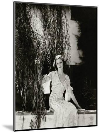 Vanity Fair - July 1933-Edward Steichen-Mounted Premium Photographic Print