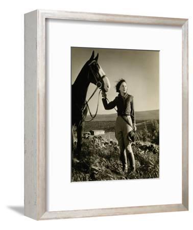 Vanity Fair - July 1933-George Hurrell-Framed Premium Photographic Print