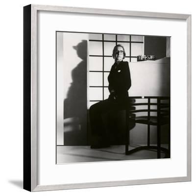 Vanity Fair - April 1984-Horst P. Horst-Framed Premium Photographic Print