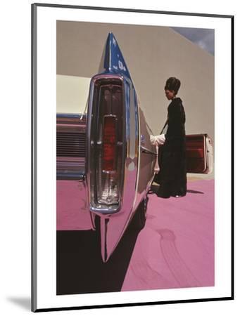 Vogue - November 1964 - Cadillac de Ville-Gene Laurents-Mounted Premium Photographic Print