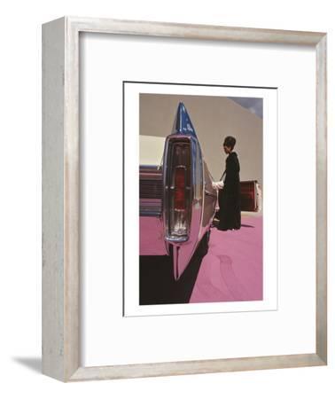Vogue - November 1964 - Cadillac de Ville-Gene Laurents-Framed Premium Photographic Print