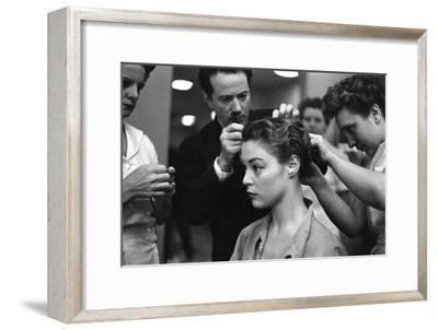 Vogue - June 1949-Constantin Joff?-Framed Premium Photographic Print