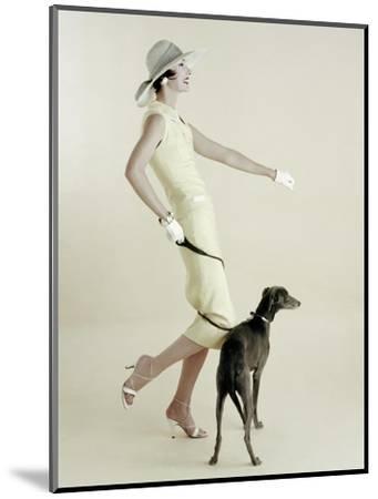 Vogue - January 1955-Richard Rutledge-Mounted Premium Photographic Print