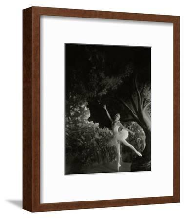 Vanity Fair - December 1935-Cecil Beaton-Framed Premium Photographic Print