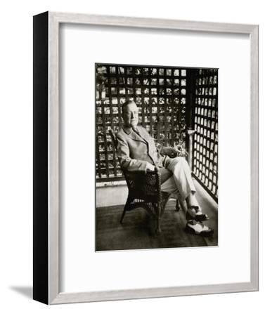 Vanity Fair - September 1924-Florence Vandamm-Framed Premium Photographic Print