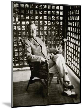 Vanity Fair - September 1924-Florence Vandamm-Mounted Premium Photographic Print