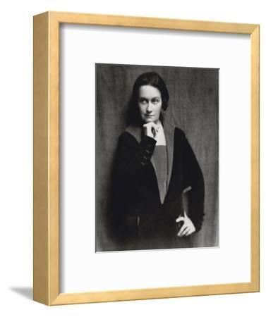 Vanity Fair - August 1921-Nickolas Muray-Framed Premium Photographic Print