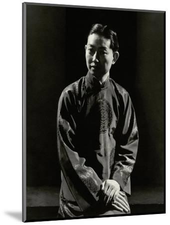 Vanity Fair - April 1930-Edward Steichen-Mounted Premium Photographic Print