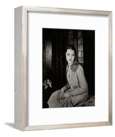 Vanity Fair - June 1927-Florence Vandamm-Framed Premium Photographic Print