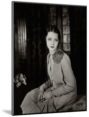 Vanity Fair - June 1927-Florence Vandamm-Mounted Premium Photographic Print