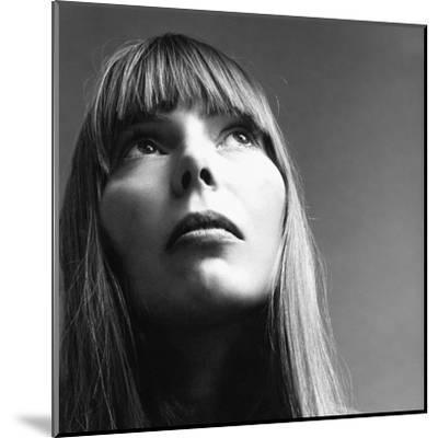 Vogue - February 1969 - Joni Mitchell-Jack Robinson-Mounted Premium Photographic Print