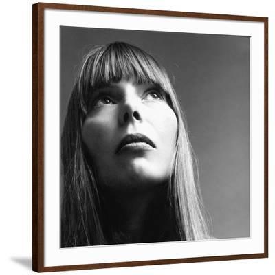 Vogue - February 1969 - Joni Mitchell-Jack Robinson-Framed Premium Photographic Print