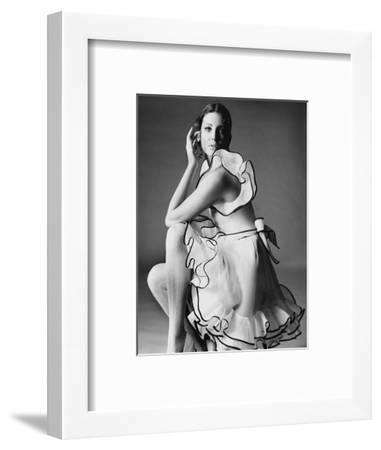 Vogue - June 1968-Bert Stern-Framed Premium Photographic Print