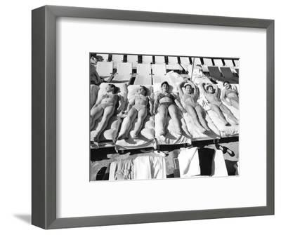 Vogue - June 1973-Duane Michals-Framed Premium Photographic Print