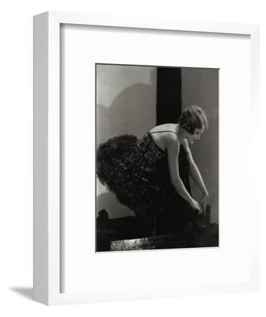 Vanity Fair - March 1927-Edward Steichen-Framed Premium Photographic Print