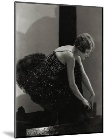 Vanity Fair - March 1927-Edward Steichen-Mounted Premium Photographic Print