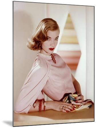 Vogue - April 1955-Horst P. Horst-Mounted Premium Photographic Print