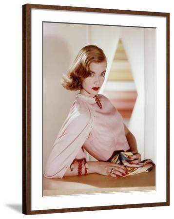 Vogue - April 1955-Horst P. Horst-Framed Premium Photographic Print
