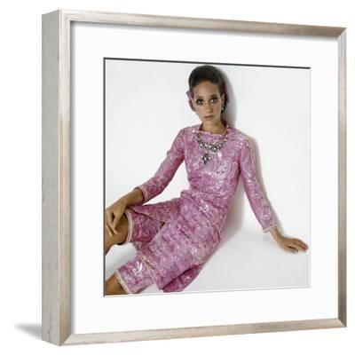 Vogue - January 1969-Gianni Penati-Framed Premium Photographic Print