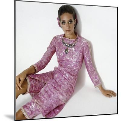 Vogue - January 1969-Gianni Penati-Mounted Premium Photographic Print