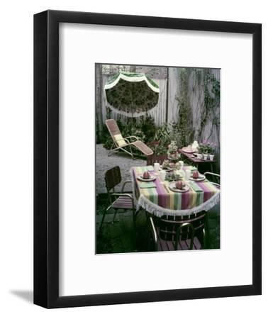 House & Garden - April 1955-Tom Leonard-Framed Premium Photographic Print