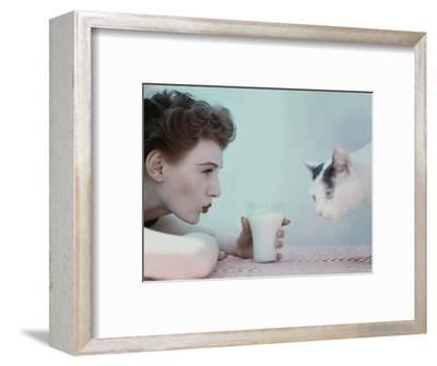 Glamour - July 1951-Richard Rutledge-Framed Premium Photographic Print