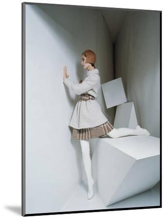 Mademoiselle - September 1967-David Mccabe-Mounted Premium Photographic Print