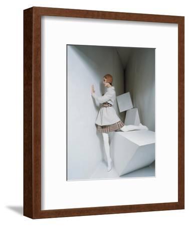 Mademoiselle - September 1967-David Mccabe-Framed Premium Photographic Print