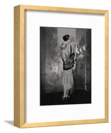 Vogue - December 1924-Edward Steichen-Framed Premium Photographic Print