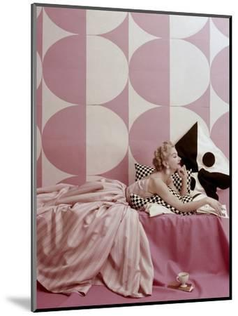 Vogue - April 1952-Richard Rutledge-Mounted Premium Photographic Print
