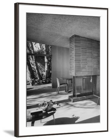 House & Garden - August 1949-Julius Shulman-Framed Premium Photographic Print