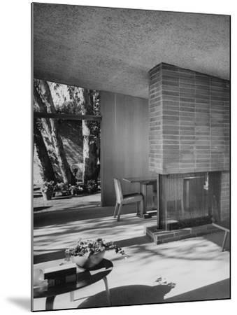 House & Garden - August 1949-Julius Shulman-Mounted Premium Photographic Print