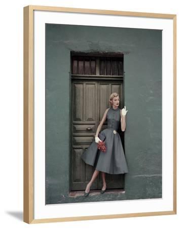 Glamour - May 1955-Leombruno-Bodi-Framed Premium Photographic Print
