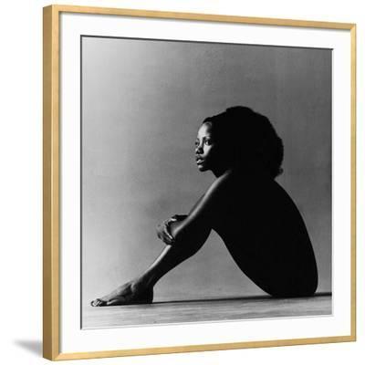 Vogue - October 1971 - Melba Moore, 1971-Jack Robinson-Framed Premium Photographic Print