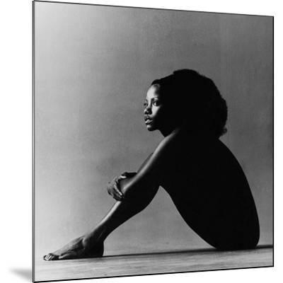 Vogue - October 1971 - Melba Moore, 1971-Jack Robinson-Mounted Premium Photographic Print