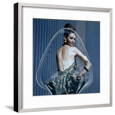 Vogue - January 1960-Leombruno-Bodi-Framed Premium Photographic Print