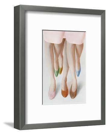 Mademoiselle - February 1964-Louis Faurer-Framed Premium Photographic Print