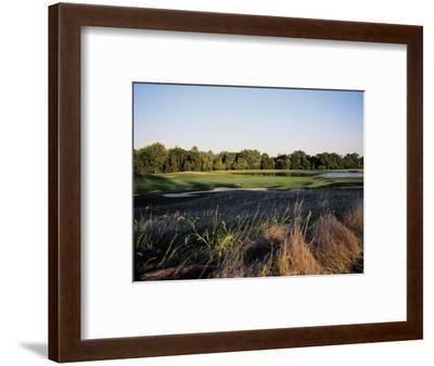 Bulle Rock Golf Course with lake-Stephen Szurlej-Framed Premium Photographic Print