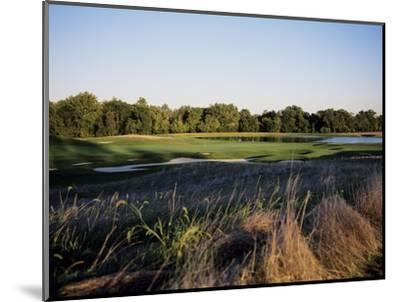 Bulle Rock Golf Course with lake-Stephen Szurlej-Mounted Premium Photographic Print
