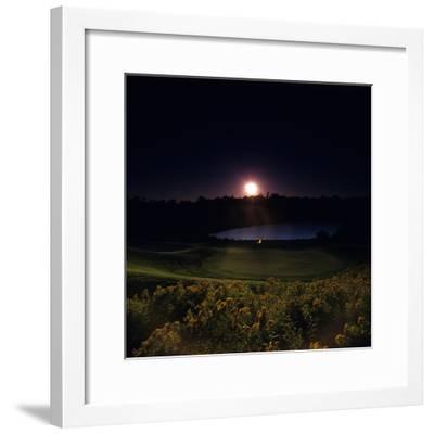 Montauk Downs Golf Course, Hole 7-Stephen Szurlej-Framed Premium Photographic Print