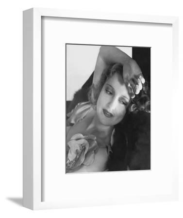 Vanity Fair - December, 1933-Edward Steichen-Framed Premium Photographic Print