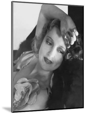 Vanity Fair - December, 1933-Edward Steichen-Mounted Premium Photographic Print