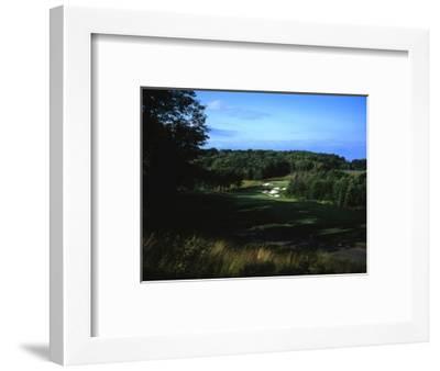 Patriot Hills Golf Club, Hole 1-Stephen Szurlej-Framed Premium Photographic Print