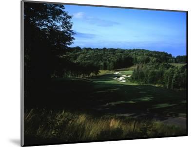 Patriot Hills Golf Club, Hole 1-Stephen Szurlej-Mounted Premium Photographic Print