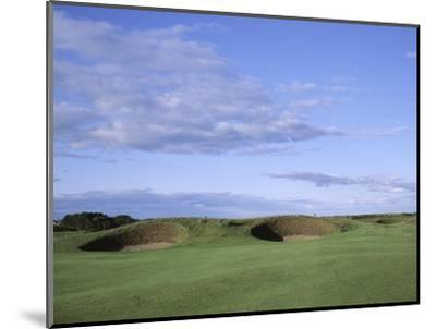 Carnoustie Golf Links, side-by-side bunkers-Stephen Szurlej-Mounted Premium Photographic Print