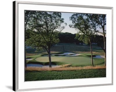 Bethpage State Park Black Course, Hole 17-Stephen Szurlej-Framed Premium Photographic Print