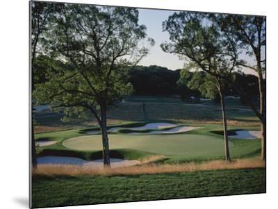 Bethpage State Park Black Course, Hole 17-Stephen Szurlej-Mounted Premium Photographic Print